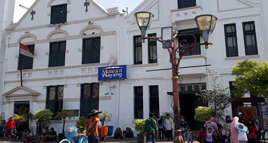 Gedung Museum Wayang Jakarta