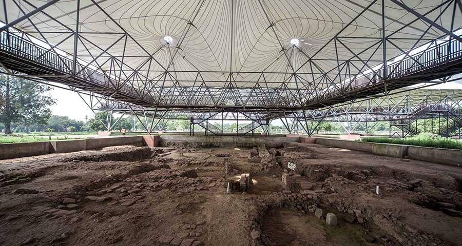 situs majapahit museum trowulan mojokerto