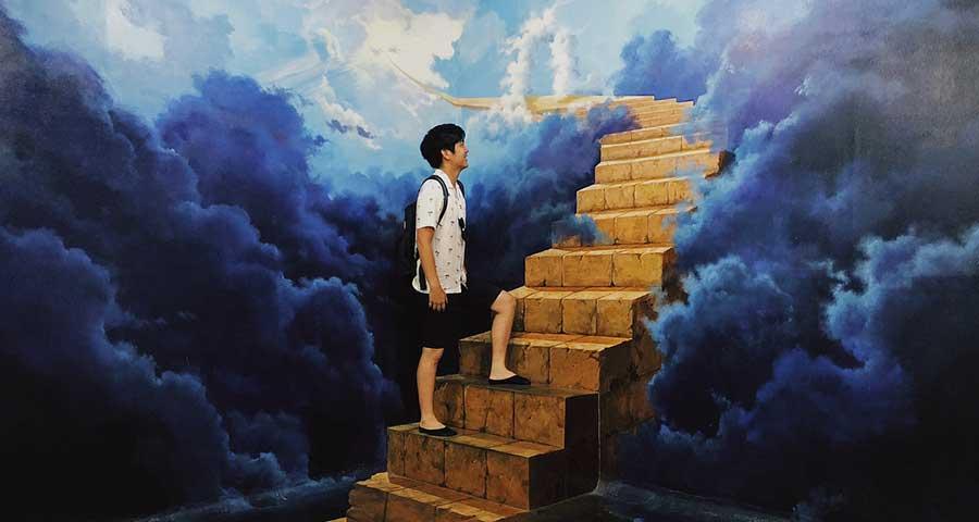 (3) koleksi lukisan 3d di dream museum zone bali