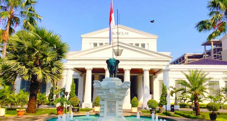 Tempat wisata yang sudah buka di Jakarta Museum Nasional Indonesia