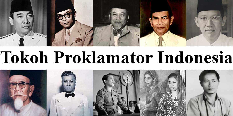 20 tokoh proklamator indonesia