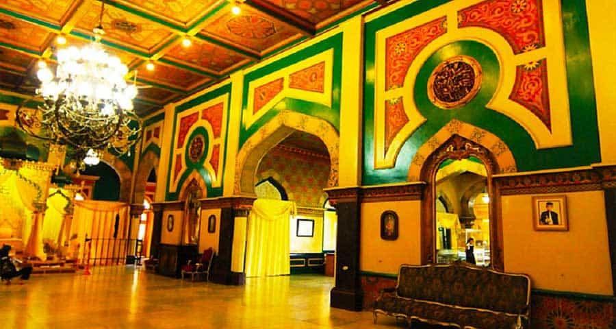 foto interior istana Maimun