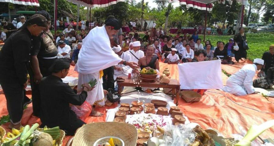 Pelaksanaan Upacara Ngaben di Bali